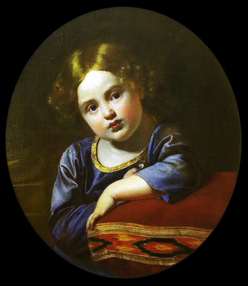 Orest Adamovich Kiprensky. Portrait of Prince E. G. Gagarin as a Child