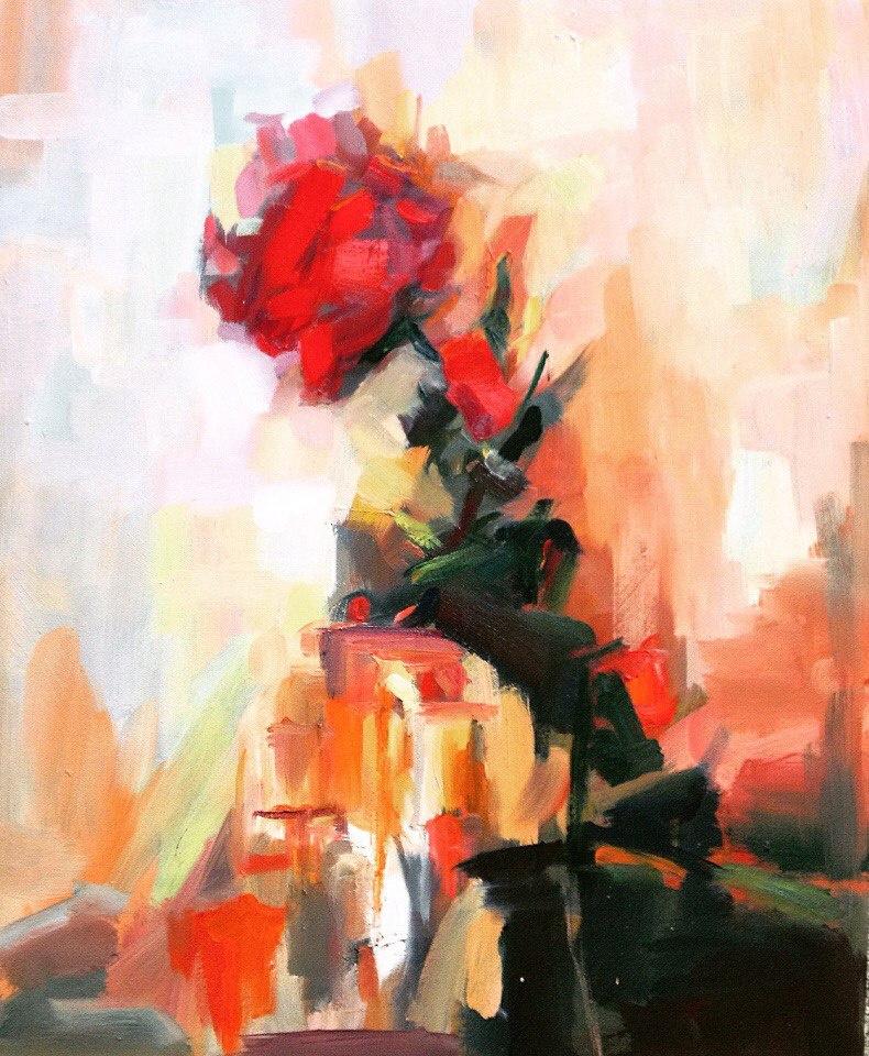 Ramazan Peizov. Rose