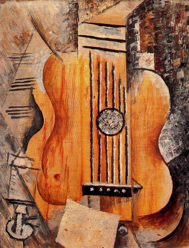 Пабло Пикассо. Гитара (Я люблю Еву)
