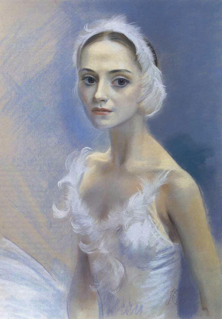 Yuri Vladimirovich Pugachev. Ballerina Natalia Krylova