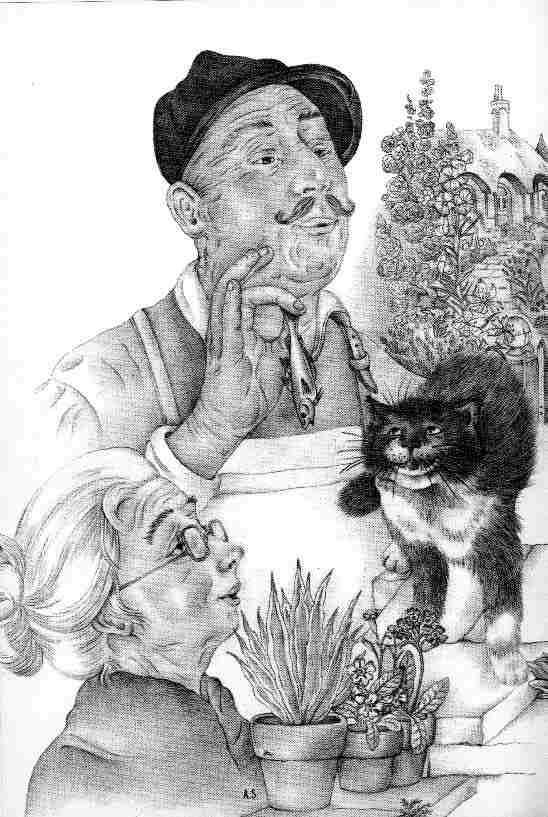 Adrienne Segur. Talking cat