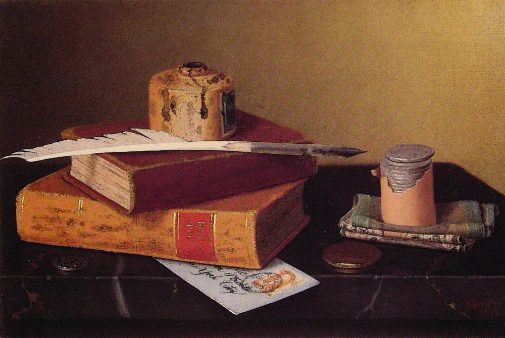 Уильям Майкл Харнетт. Книги и перо