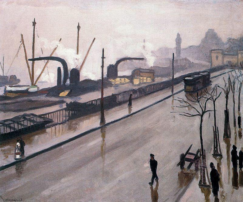 Albert Marquet. Port Hamburge