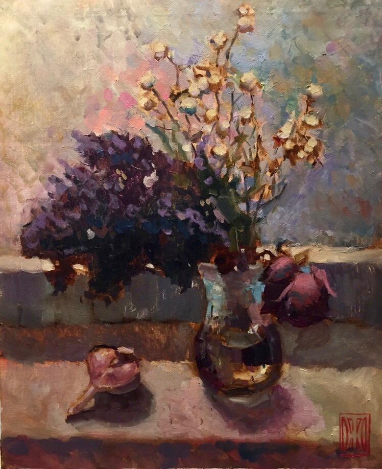 Zhmurko.AC. Bouquet of dried flowers