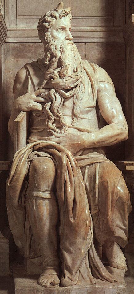 Микеланджело Буонарроти. Моисей