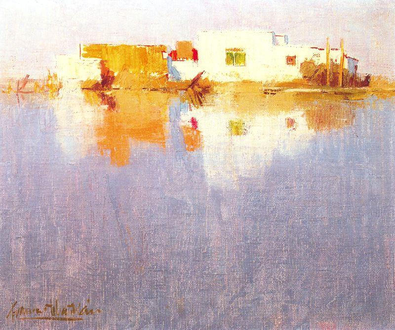 Франсиско Себастьян. Отражение на воде