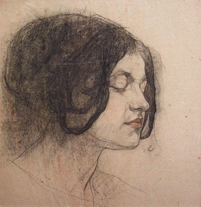 Николай Иванович Фешин. Женский портрет (Сидорченко)