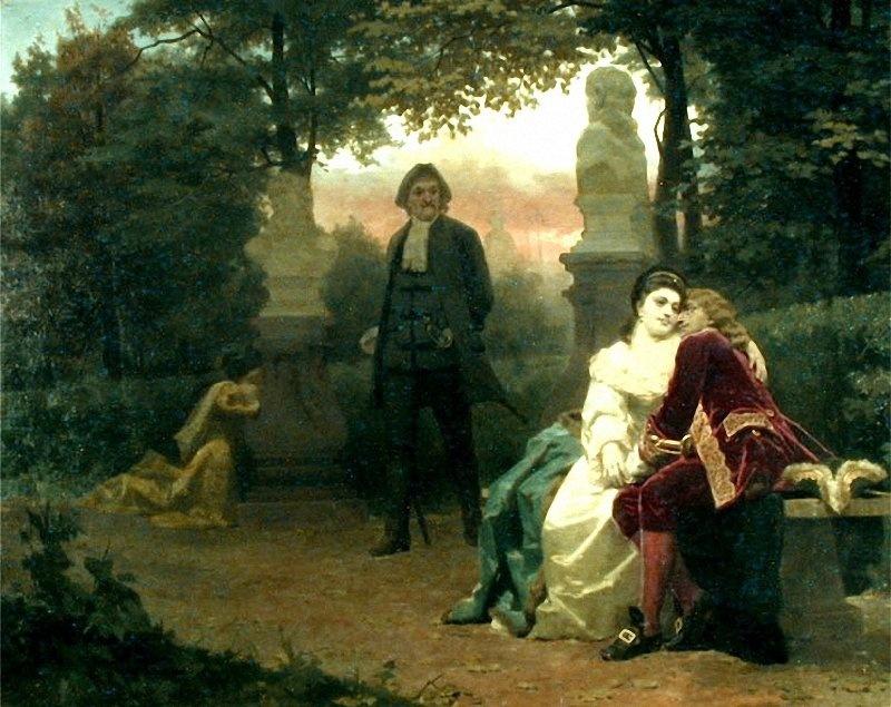 Nikolai Vasilyevich Nevrev. Episode from the life of Peter I