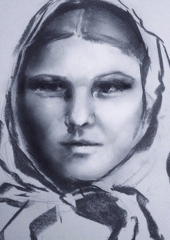 Irina Tabolova. Russian woman