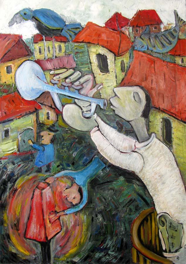 Svyatoslav Ryabkin. The trumpeter trumpeter