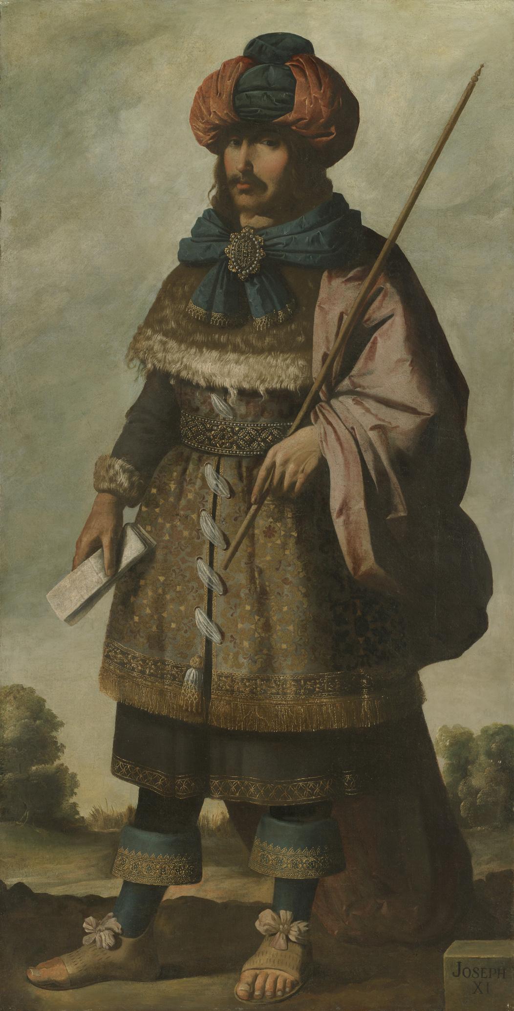 "Francisco de Zurbaran. Joseph from the series ""Jacob and his twelve sons"""