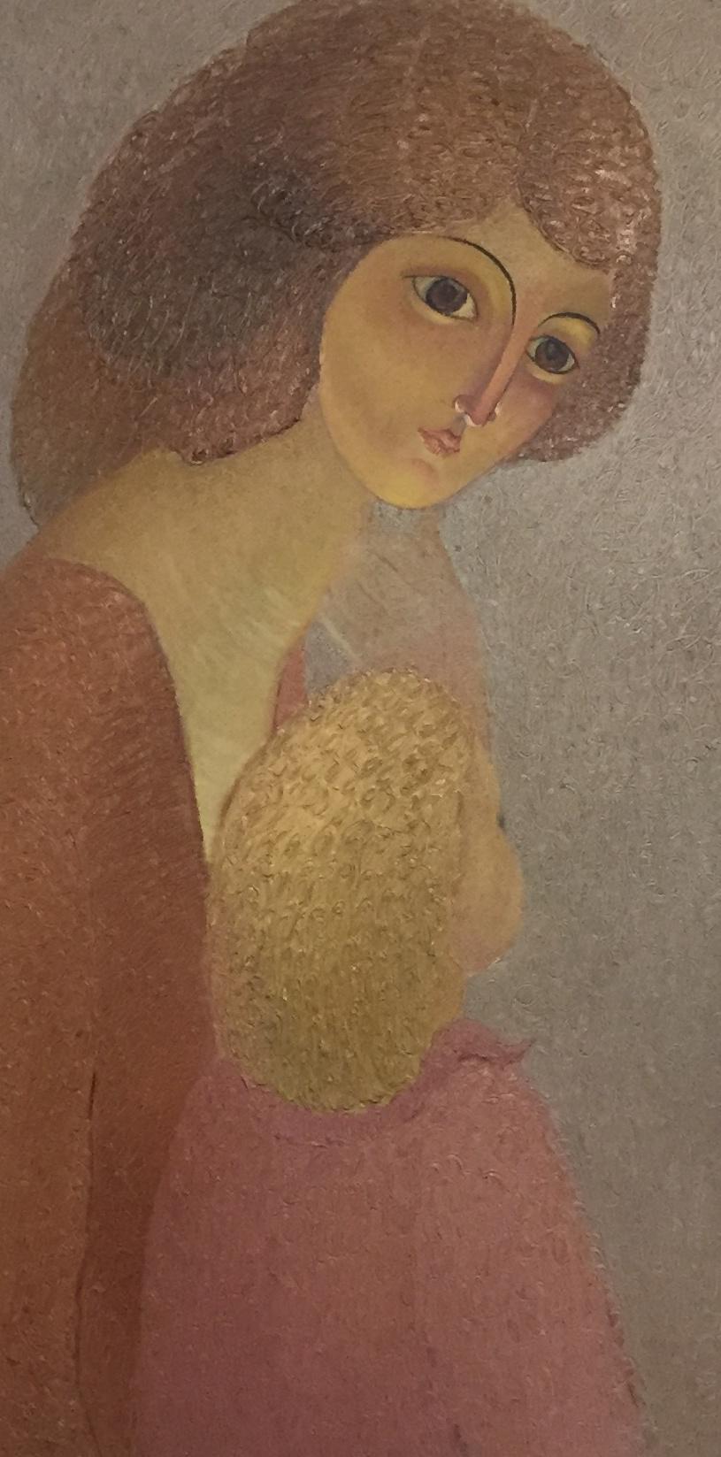 Rostislav Nikolaevich Ivanov. Mother with daughter