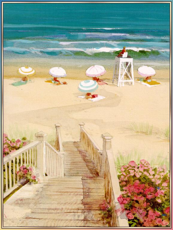 George Shedd. The sea