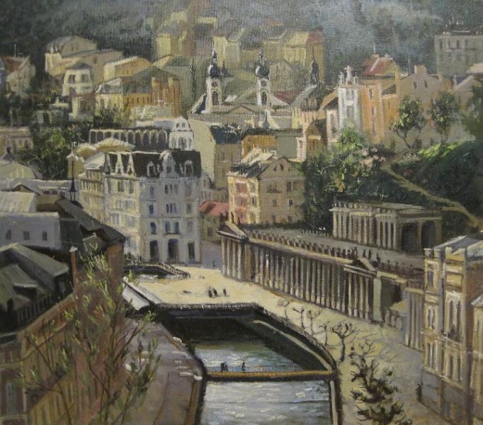 Elena Gostyushina. Karlovy Vary