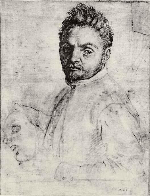 """Агостино Карраччи. Портрет Джованни Габриелли, по прозвищу """"Сивелло"""""""