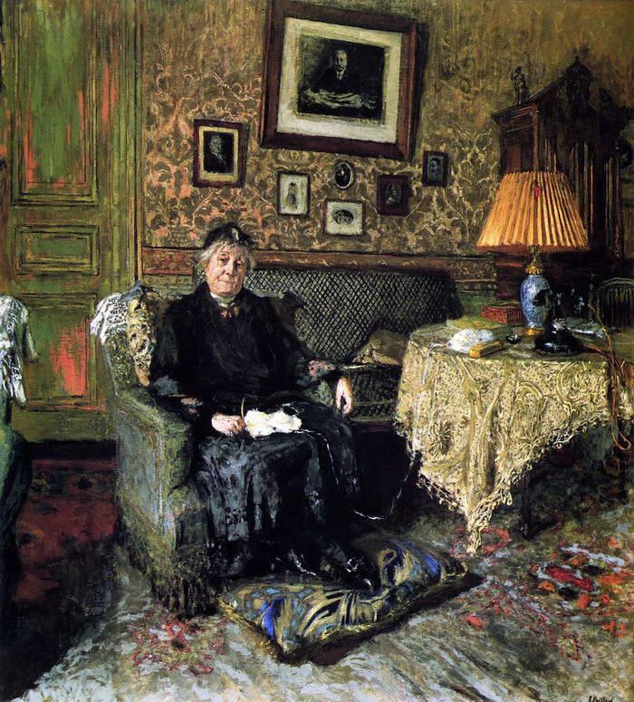 Jean Edouard Vuillard. Madame Adrien Benard