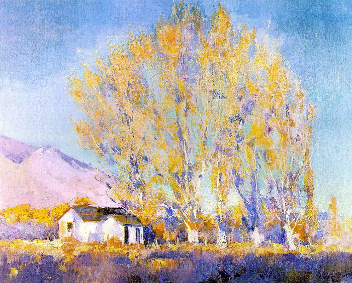 Алсон Скиннер Кларк. Желтое дерево
