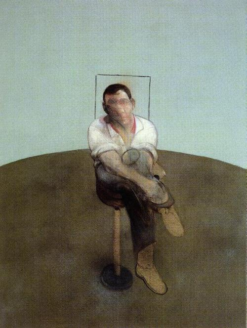 Фрэнсис Бэкон. Сидящий на стуле мужчина