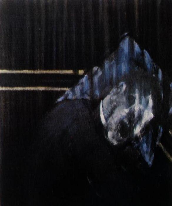 Фрэнсис Бэкон. Три этюда справа человеческая голова