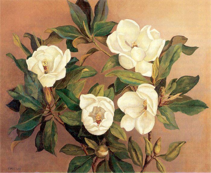 Флоренция МкКлунг. Нежные цветы