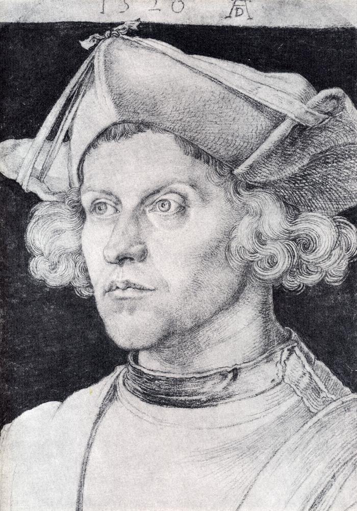 Albrecht Dürer. Portrait of an unknown man