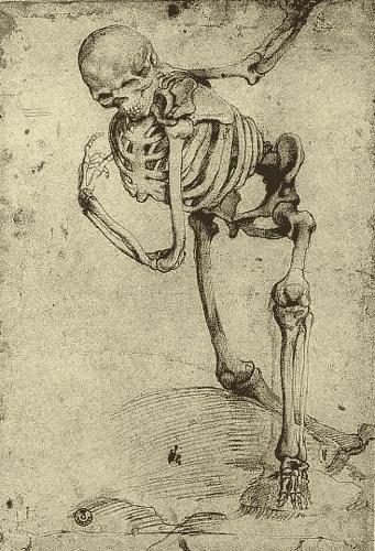 Алессандро Аллори. Скелет