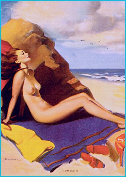 Jill Elvgren. Sea breeze