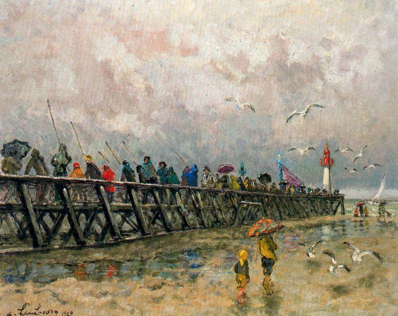 Андре Хамбоург. Дождливая погода