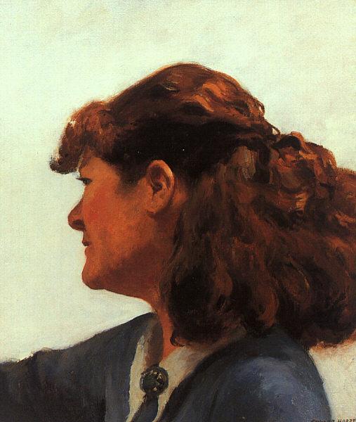 Edward Hopper. Jo drawing