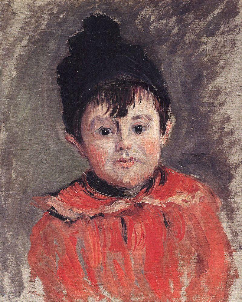 Клод Моне. Портрет Мишеля в шапочке с помпоном