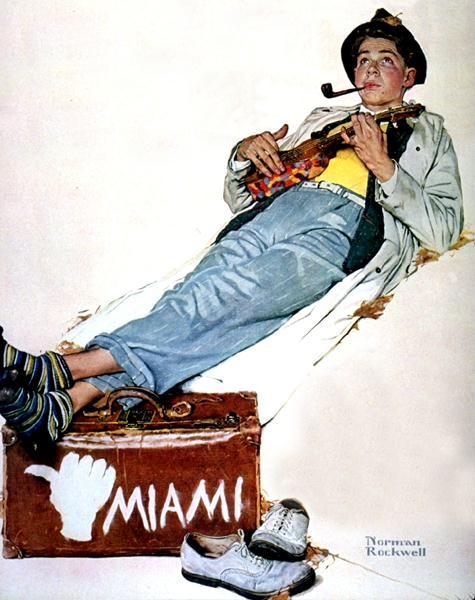 Норман Роквелл. Майами. Песня любви