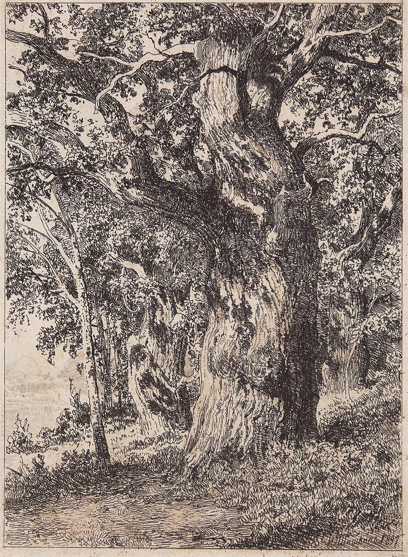 Ivan Shishkin. Old oak