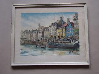 Unknown artist. New Harbour, Copenhagen.