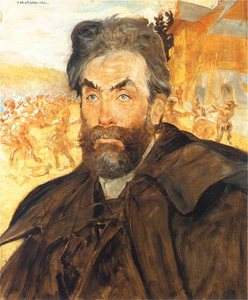 Jacek Malchevsky. Portrait of Stanislav Vitkevich