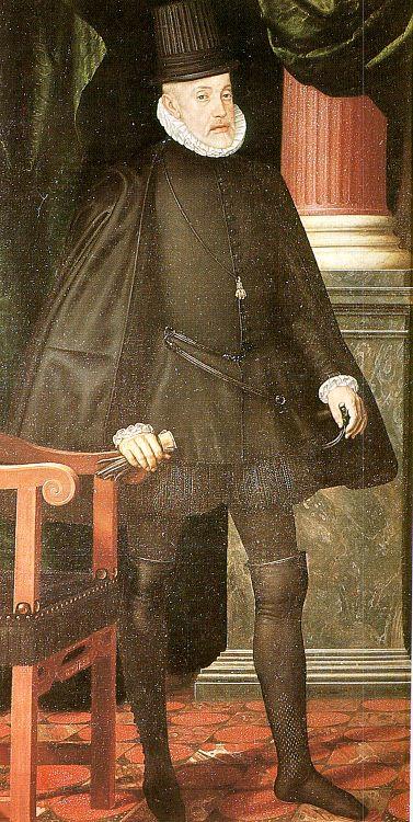 Хуан Пантоха де ла Крус. Портрет Филиппа II в старости