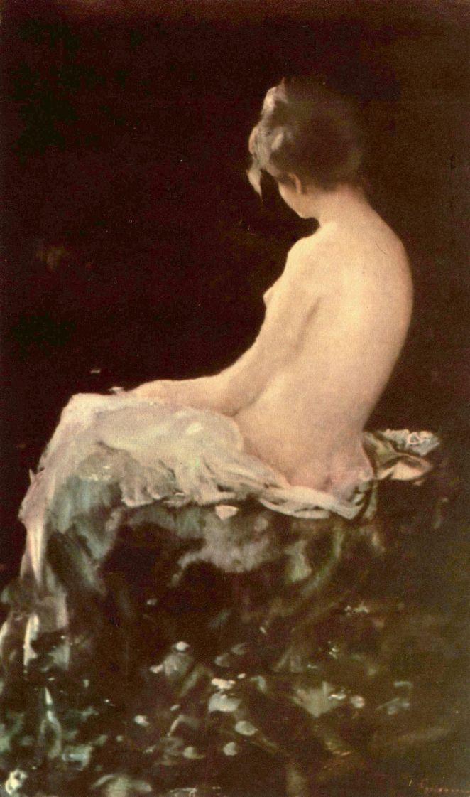 Nicolae Grigorescu. Before bathing