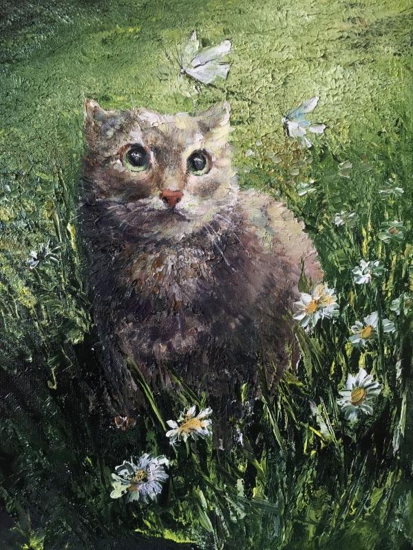 Анастасия Ораина. Cat Ripik