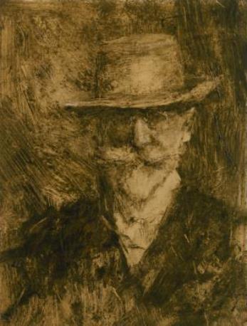 William Merritt Chase. Self-portrait