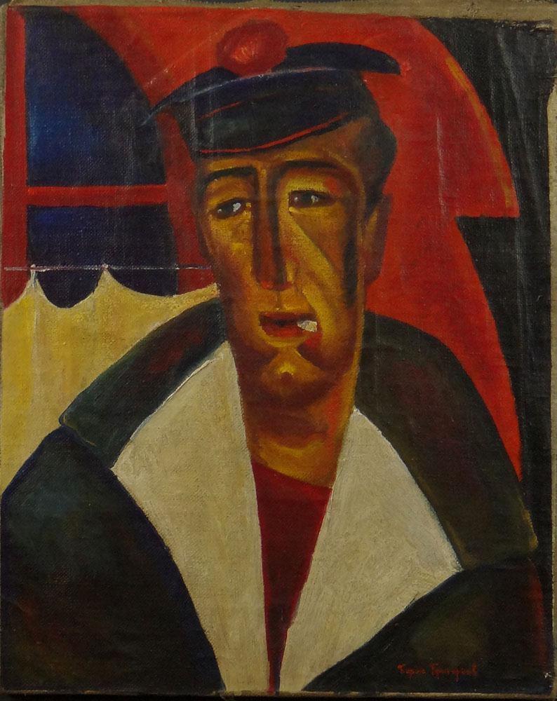 Борис Дмитриевич Григорьев. Матрос
