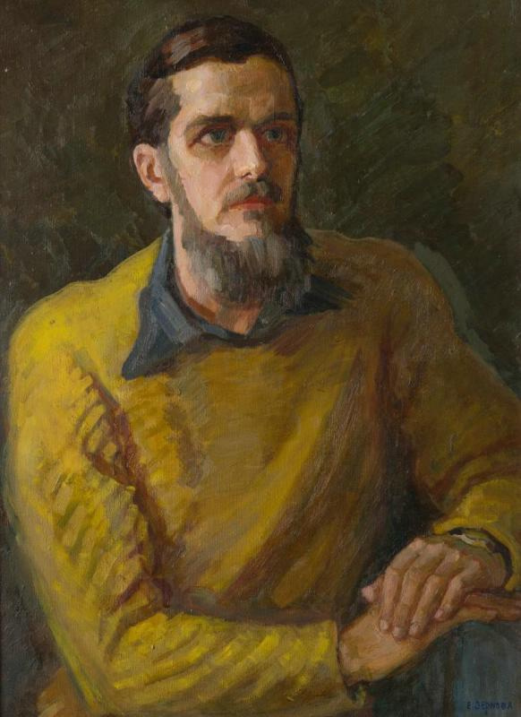 Ekaterina Sergeevna Zernova. Portrait of G.G. Derviz