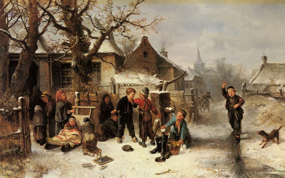 Йохан Мари Тен Кейт. Зима