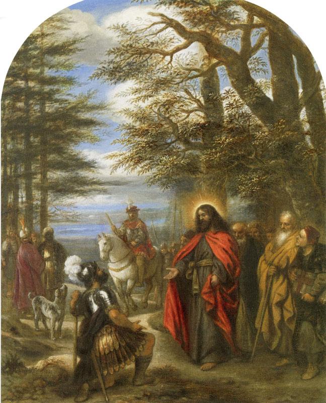Ян Ливенс. Христос и центурион