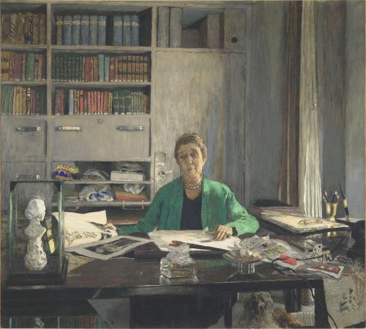 Jean Edouard Vuillard. Jeanne Lanvin