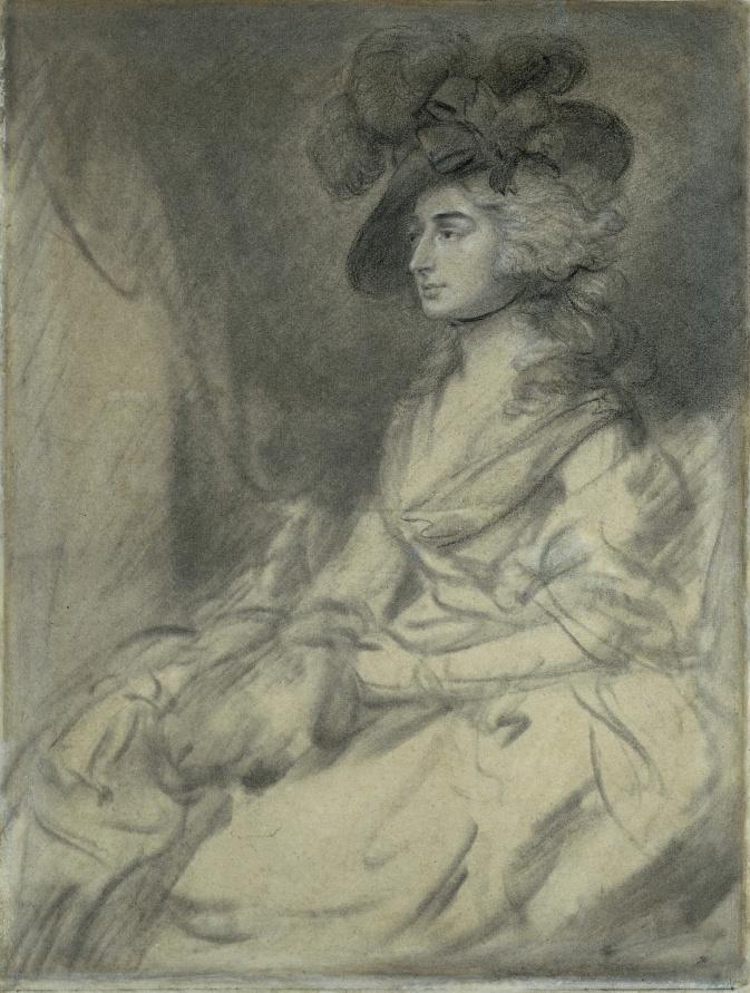 Thomas Gainsborough. Mrs. Sarah Siddons