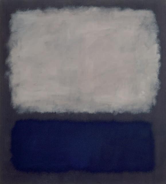 Rothko Mark. Untitled (White, blue, gray)