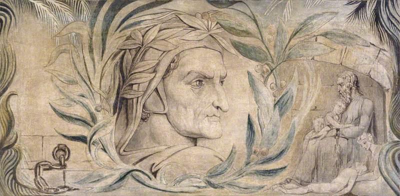 William Blake. Dante Alighieri