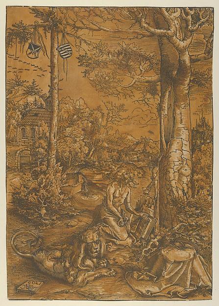 Lucas Cranach the Elder. Saint Jerome