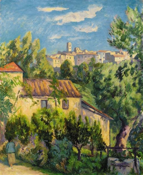 Henri Manguin. Farm, Saint-Paul de Vence