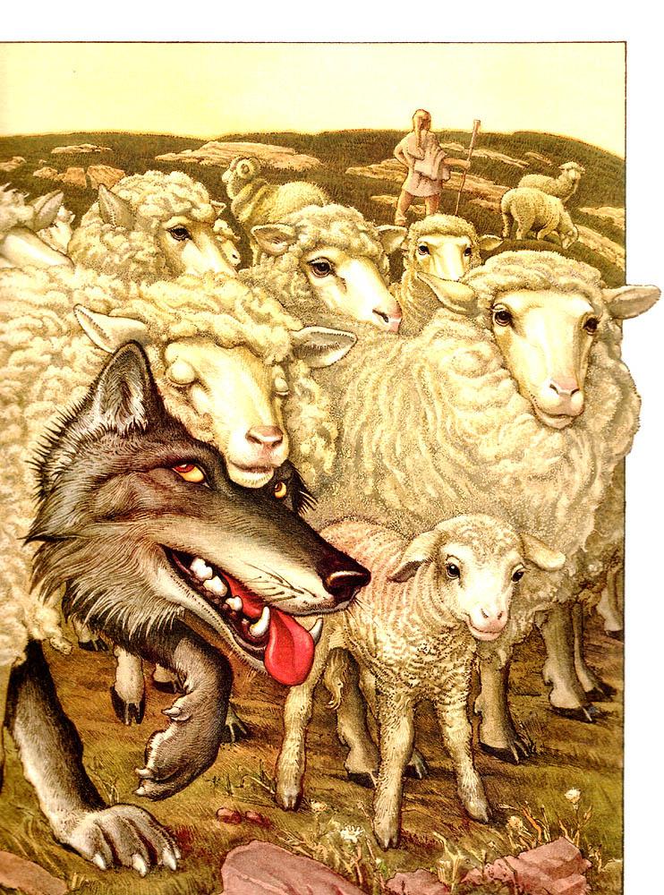 Чарльз Сантор. Волк в шкуре овцы