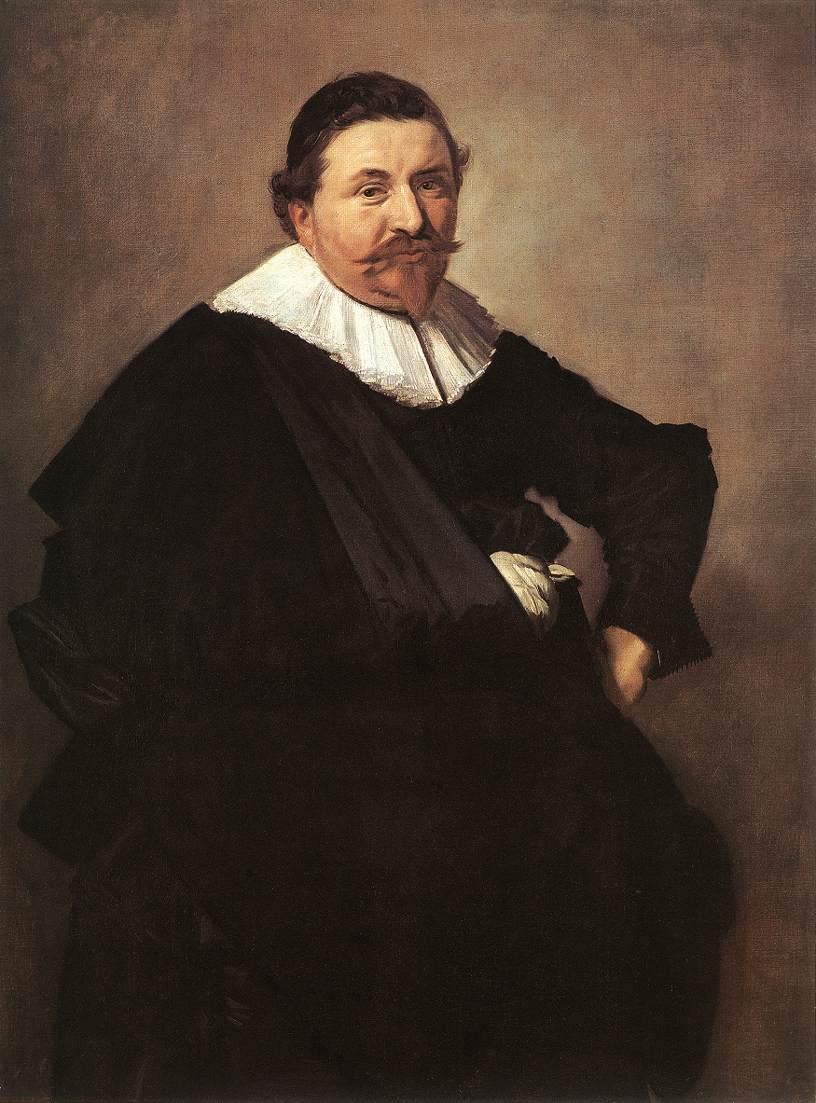 Frans Hals. Portrait of Lucas de Klerk